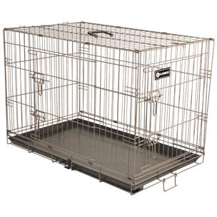 FLAMINGO - Cage Ebo Taupe S 43x61x50cm