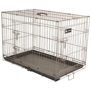 FLAMINGO - Cage Ebo taupe L 109x77x70