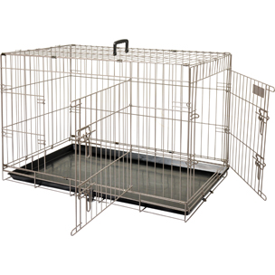 FLAMINGO - Cage Ebo taupe XXL 76x124x83cm