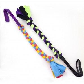 Handled fleece tug élastique - Tug-E-Nuff