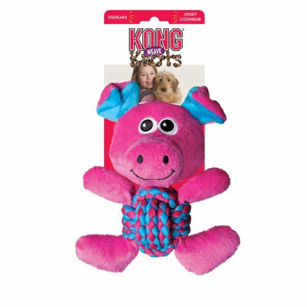 KONG - Weave Knot Pig