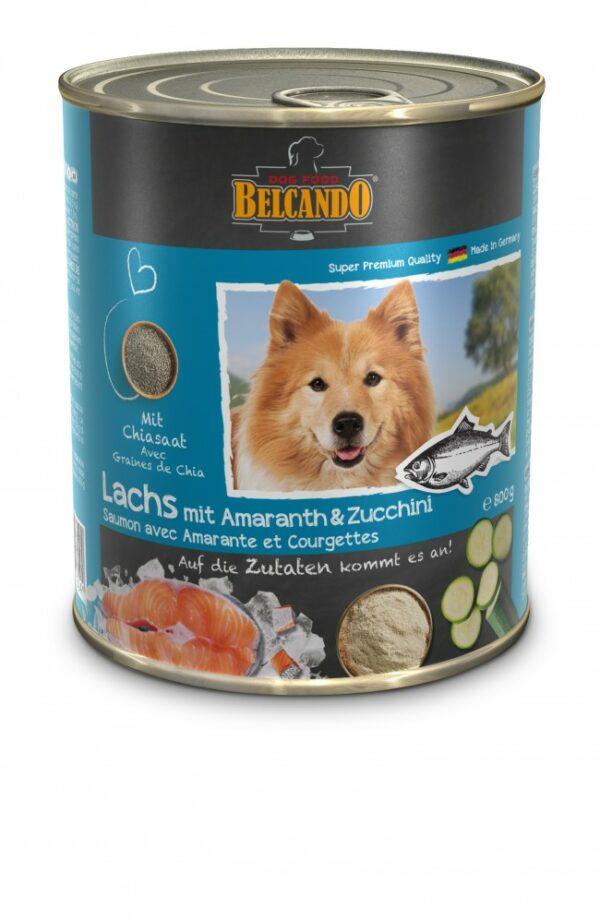 Saumon avec Amarante et Courgettes - Aliment Humide - Belcando