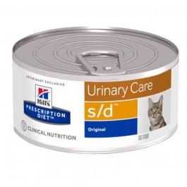 Hill's Pet Nutrition Prescription Diet Urinary Care S/D Original 156g