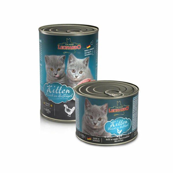 Kitten - Aliment Humide pour chaton - Leonardo