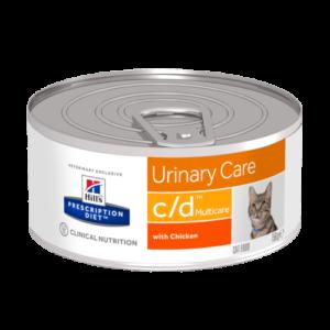 Hill's™ Prescription Diet™ c/d™ Multicare Feline au Poulet