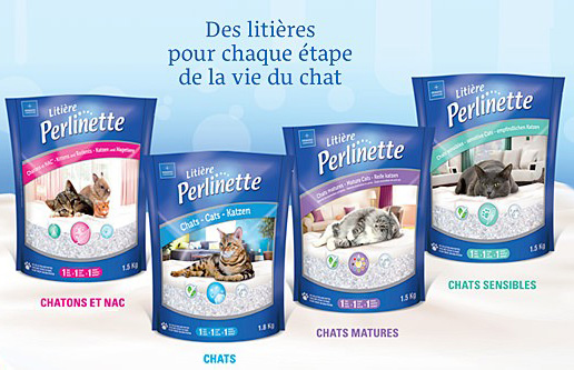 Litière Perlinette Chat